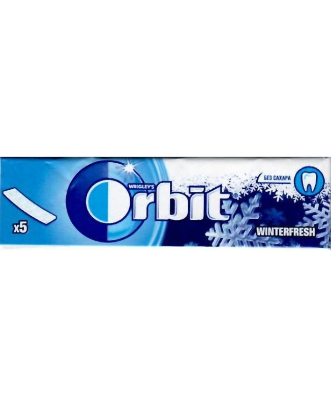 Orbit Winterfresh 5 пластин